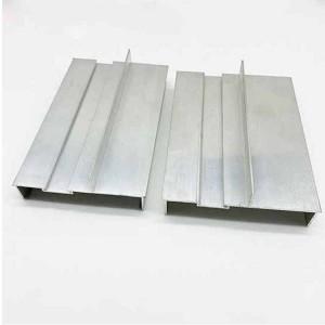 Aluminium window frame extrusions